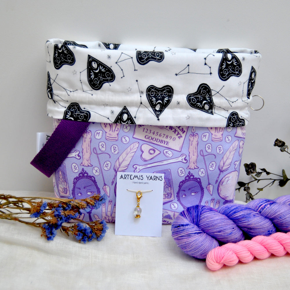 Pre-order Good Witch project bag set - Set Sac à projet Good Witch