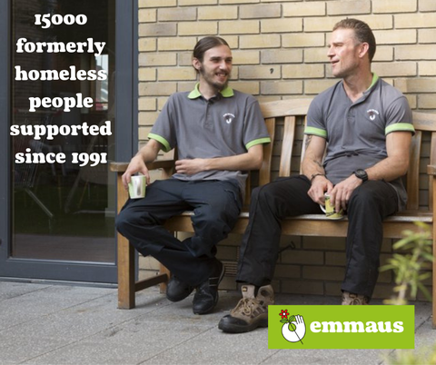Image of two Emmaus community members