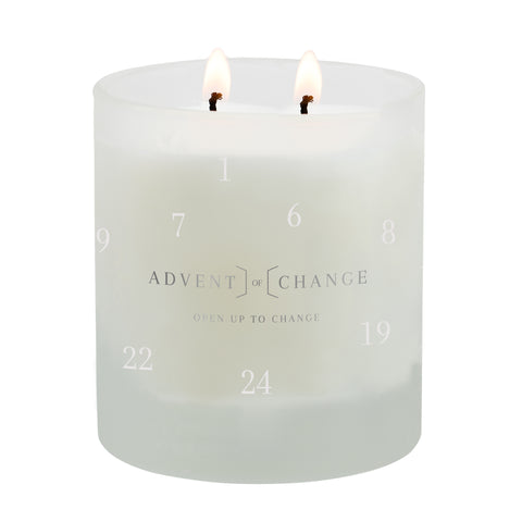 Advent of Change charity candle Christmas 2020