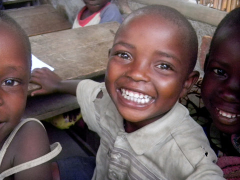 Image of an african school child