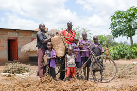 Image of an African Farming Family