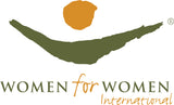 Women for Women International Charity Logo
