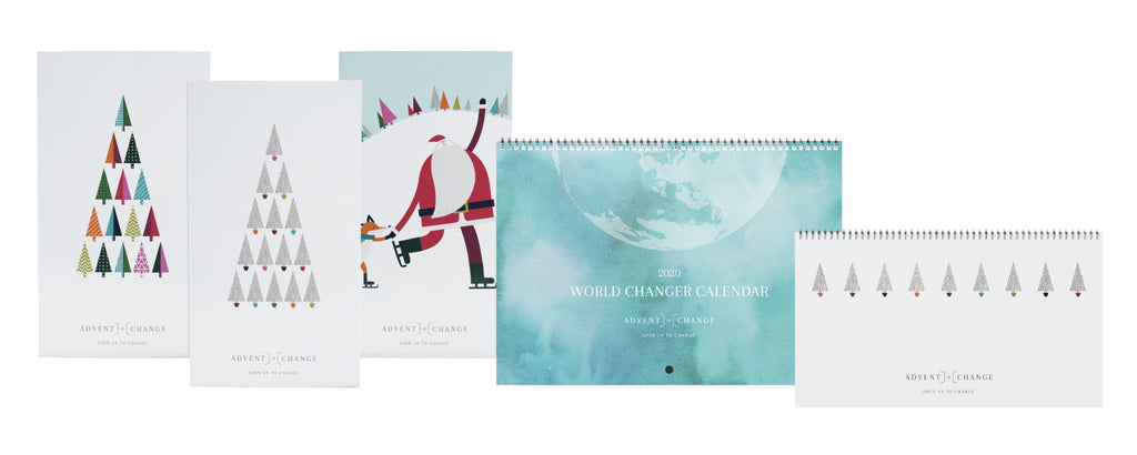 all five advent of change products from the 2019 range
