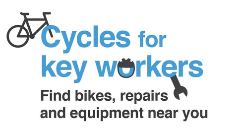 Sustrans bikes for keyworkers