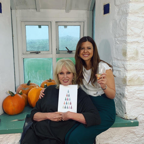 advent of change founder kristina and joanna lumley
