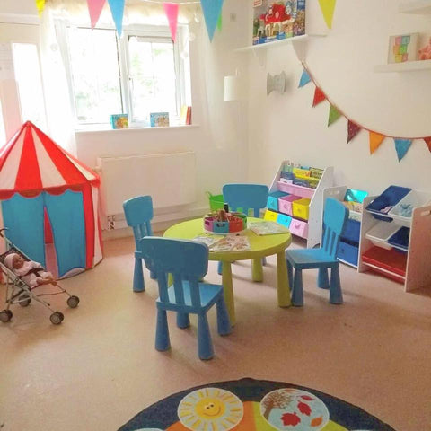 Image of a playroom created by 52 Lives