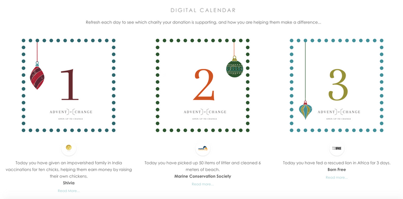 Digital Charity Advent Calendar