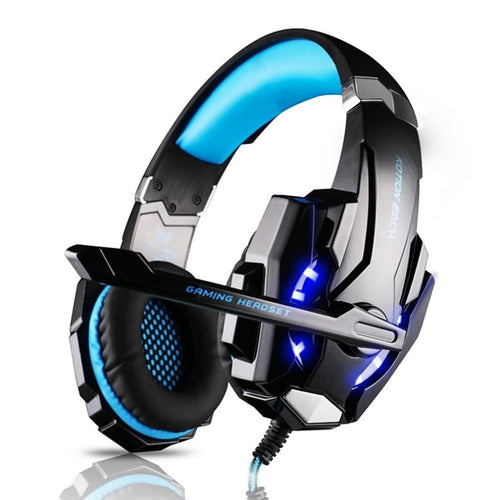 Gaming Headset Microphone LED USB Jack 3.5mm Game Headphone 5V Earphone For PS4 PS3 Xbox One Laptop Tablet Smartphone Headband
