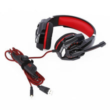 Load image into Gallery viewer, Gaming Headset Microphone LED USB Jack 3.5mm Game Headphone 5V Earphone For PS4 PS3 Xbox One Laptop Tablet Smartphone Headband