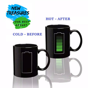 Magic mug that reacts to temperature!