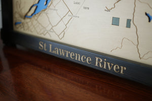 "St Lawrence River 23"" x 18"""