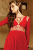 Designer Embroidered Anarkali!:atisundar Beautiful Red Anarkali - 8048 - atisundar - 3 - click to zoom