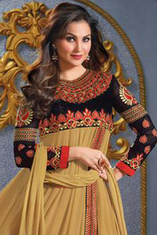 Lara Dutta Collection:atisundar gorgeous   in Beige - 4970 - atisundar - 3