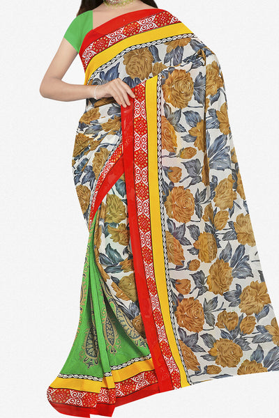 Designer Saree:atisundar pretty Designer Saree in Faux Georgette in Multi  - 11690 - atisundar - 1 - click to zoom