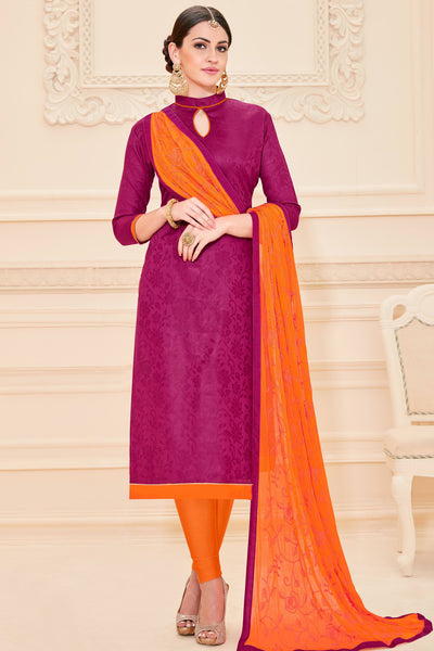 Designer Straight Cut:atisundar superb Pink Designer Straight Cut  - 12629 - click to zoom