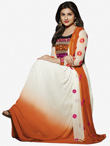 Parineeti Chopra Collection:atisundar radiant   in Offwhite And Orange - 4811 - atisundar - 1 - click to zoom