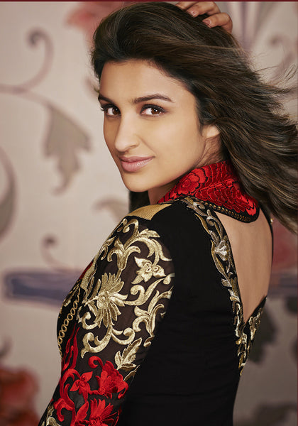 Parineeti Chopra Collection:atisundar divine   in Black - 4812 - atisundar - 6 - click to zoom