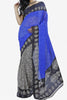 Designer Saree:atisundar divine Designer Saree in Faux Georgette in Blue And Grey  - 11700 - atisundar - 1 - click to zoom