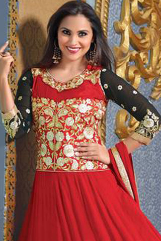 Lara Dutta Collection:atisundar fair   in Red And Black - 4971 - atisundar - 4