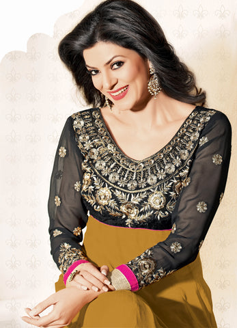 The Sushmita Sen Collection: atisundar Neha: Beautiful Embroidered Semi stitched Anarkali - 4425 - atisundar - 5
