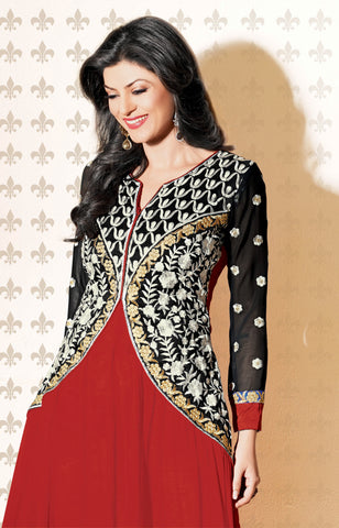 The Sushmita Sen Collection: atisundar Rupali: Designer Embroidered Semi stitched Anarkali - 4426 - atisundar - 4