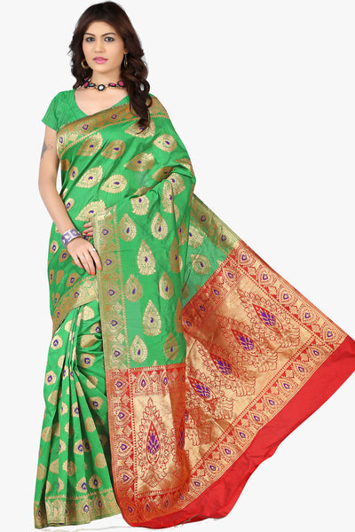 Designer Saree:atisundar bewitching Designer Sarees in Sea Green  - 11143 - atisundar - 1 - click to zoom