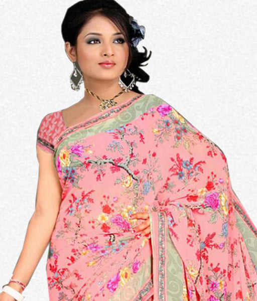 Designer Sraees!:atisundar fair Designer Party Wear Sarees in Multi  - 7222 - atisundar - 3 - click to zoom