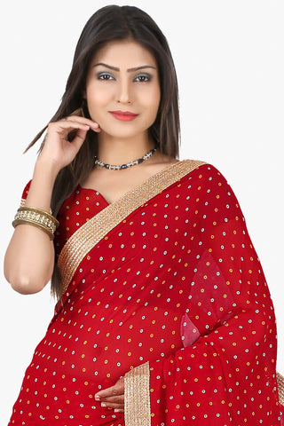 Designer Saree:atisundar admirable Designer Sarees in Red  - 11138 - atisundar - 2
