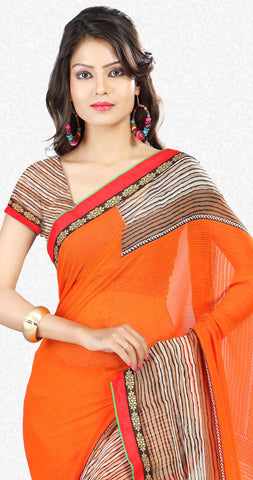 Designer Sraees!:atisundar Attractive Designer Party Wear Sarees in Multi  - 7269 - atisundar - 3 - click to zoom