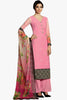 Designer Straight Cut:atisundar Superb Light Pink Designer Plazzo Straight Cut by Kimora - 12129 - atisundar - 1 - click to zoom