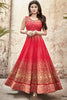 Designer Anarkali:atisundar refined Red Designer Embroidered Anarkali in Faux Georgette Featuring Mouni Roy - 11641 - atisundar - 3 - click to zoom