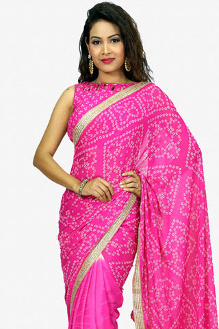 Designer Saree:atisundar marvelous Designer Party Wear Saree in Pink  - 13237