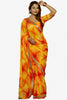 Designer Saree:atisundar lovely Designer Party Wear Saree in Yellow And Orange  - 13241 - click to zoom