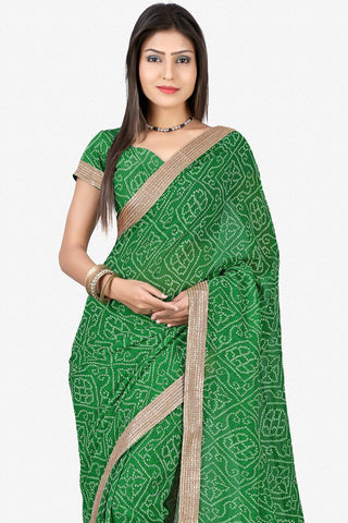 Designer Saree:atisundar beauteous Designer Party Wear Saree in Green  - 13245