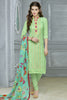 Designer Straight Cut:atisundar exquisite Green Designer Party Wear Straight Cut in Faux Chanderi Cotton - 11949 - atisundar - 3 - click to zoom
