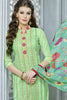 Designer Straight Cut:atisundar exquisite Green Designer Party Wear Straight Cut in Faux Chanderi Cotton - 11949 - atisundar - 4 - click to zoom