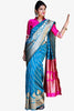 Designer Party Wear Saree:atisundar lovely Designer Party Wear Saree in Blue  - 14254 - click to zoom