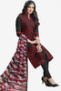Designer Straight Cut:atisundar Attractive Black And Red Designer Party Wear Straight Cut in Faux Chanderi - 12366 - atisundar - 3 - click to zoom