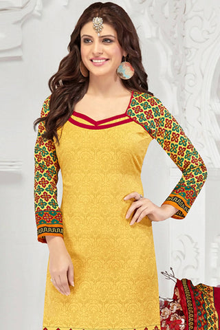 Designer Straight Cut:atisundar admirable Yellow Designer Party Wear Straight Cut - 13184