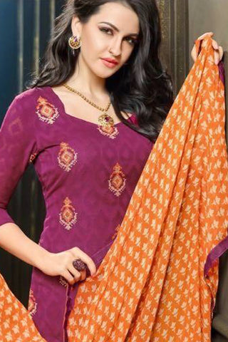 Designer Straight Cut:atisundar Attractive Purple Designer Party Wear Straight Cut - 13174
