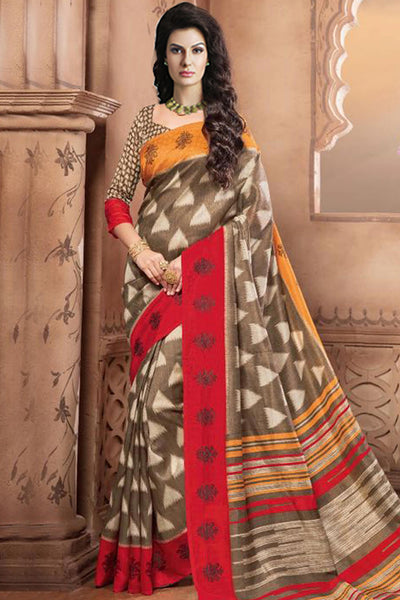 Designer Sarees:atisundar marvelous Designer Party Wear Sarees in Multi  - 12452 - atisundar - 3 - click to zoom