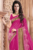 Designer Sarees:atisundar bewitching Designer Party Wear Sarees in Pink  - 12456 - atisundar - 4 - click to zoom