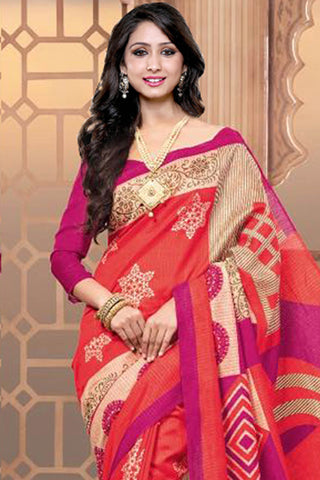 Designer Sarees:atisundar superb Designer Party Wear Sarees in Orange  - 12457 - atisundar - 4