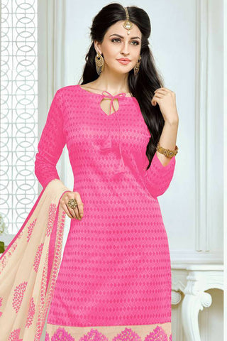 Designer Straight Cut:atisundar exquisite Pink Designer Party Wear Straight Cut - 13175