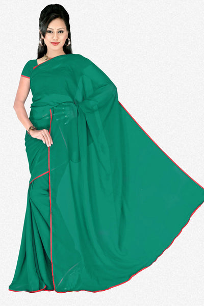 atisundar Lovely Green Colored Saree - atisundar - 2 - click to zoom