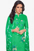 Designer Straight Cut:atisundar stunning Green Designer Party Wear Straight Cut - 13722 - click to zoom