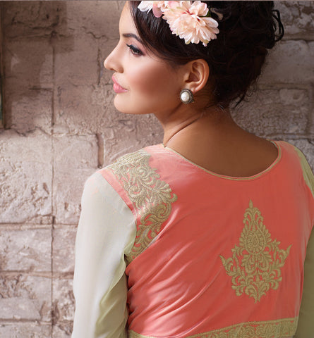 Designer Embroidered Suit:atisundar angelic Gray Designer Embroidered Suits - 8412 - atisundar - 4