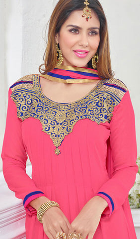 Designer Suit:atisundar wonderful Pink Designer Embroidered Suit - 10239 - atisundar - 3