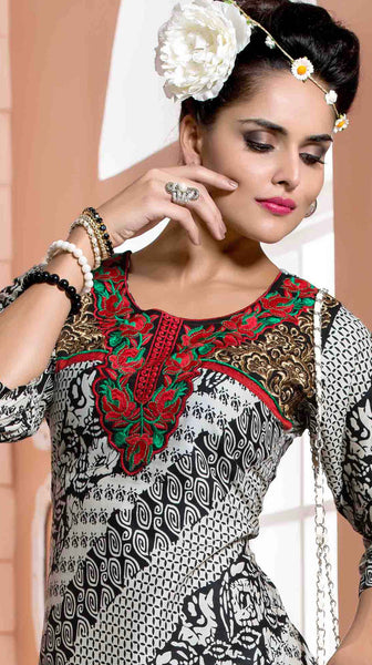 Designer tops:atisundar bewitching Rayon Designer Printed Tops in Red - 6931 - atisundar - 3 - click to zoom