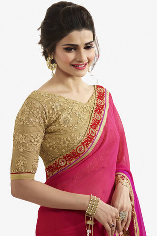 Designer Saree:atisundar Great Designer Party Wear Saree Featuring Prachi Desai in Green  - 13545